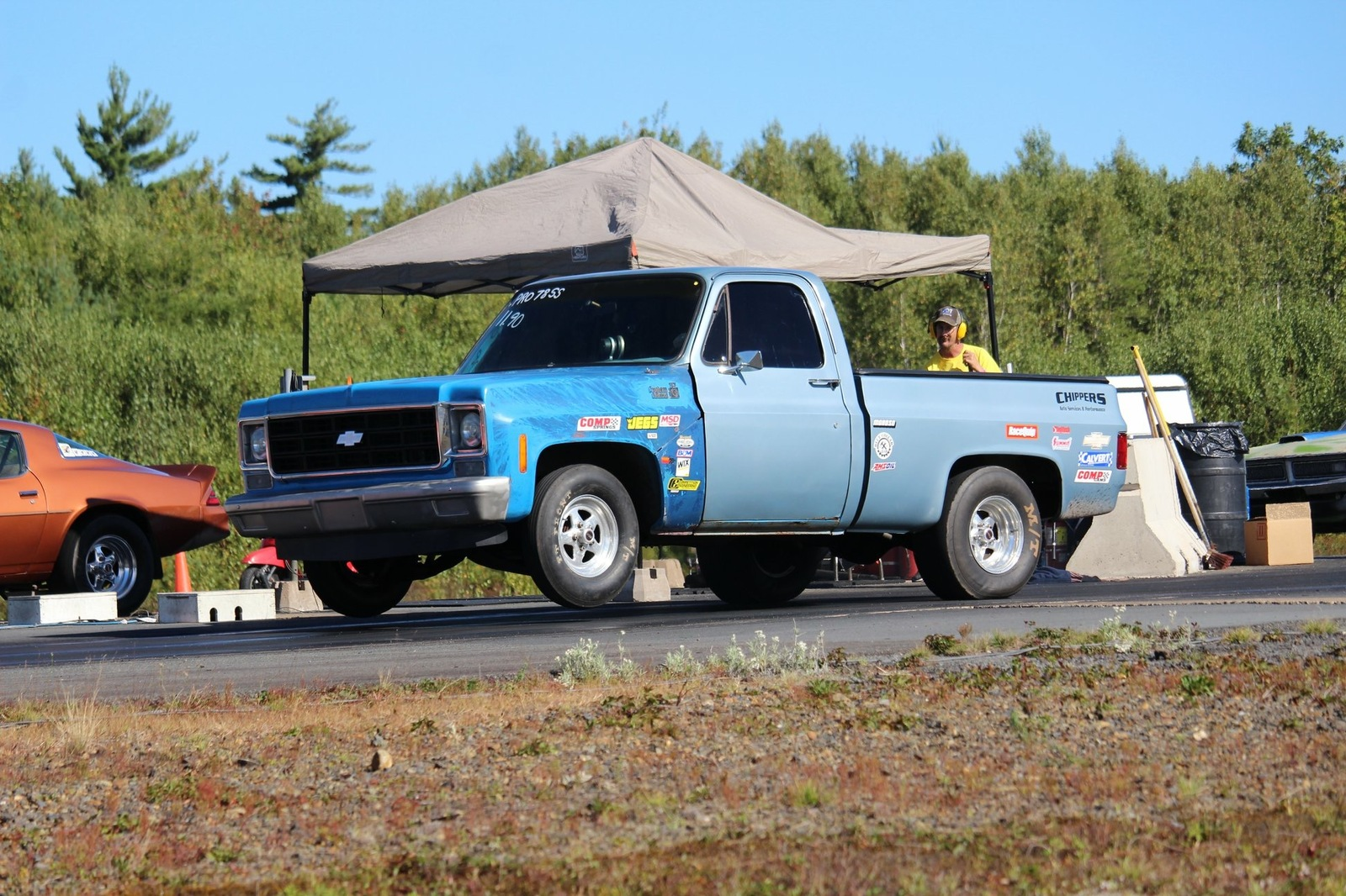 1978 Blueish Chevrolet CK1500 Truck Custom Deluxe picture, mods, upgrades