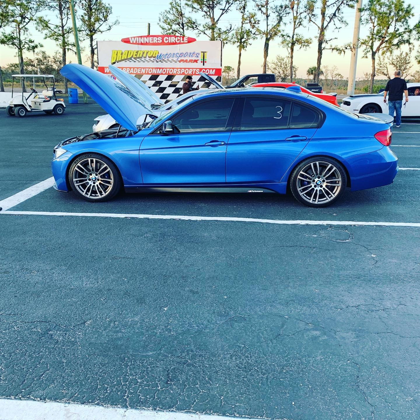 Estoril Blue 2014 BMW 335i
