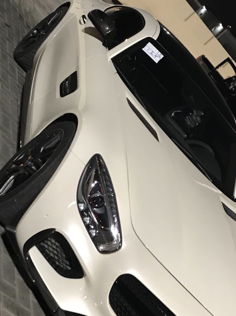 WHITE 2016 Mercedes-Benz AMG GTS