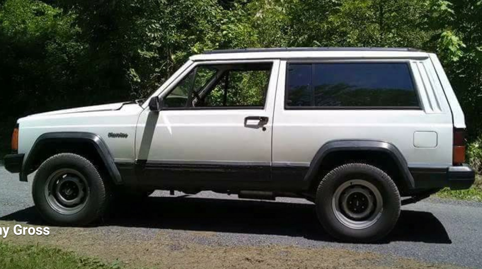 1994 White Jeep Cherokee Inline 6 picture, mods, upgrades