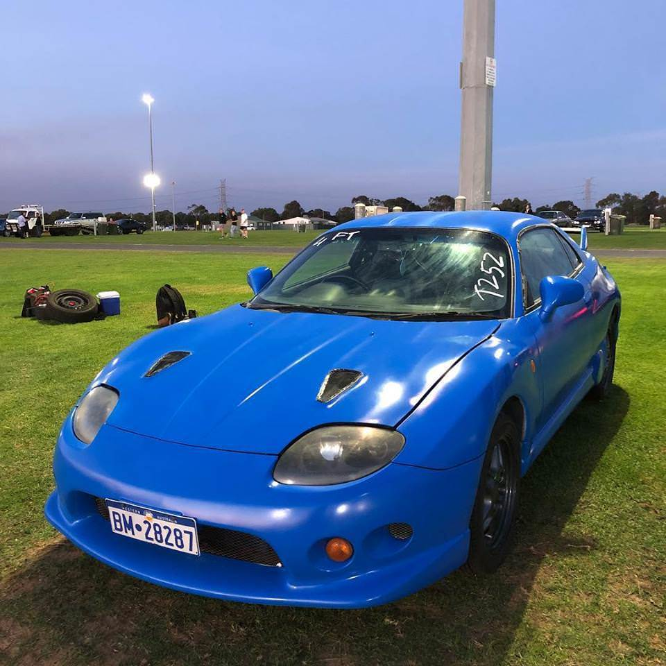 1997 Mitsubishi FTO GPX 1/4 mile trap speeds 0-60 - DragTimes com