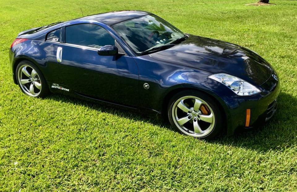 2007 Midnight Blue Nissan 350z Track Pictures Mods Upgrades