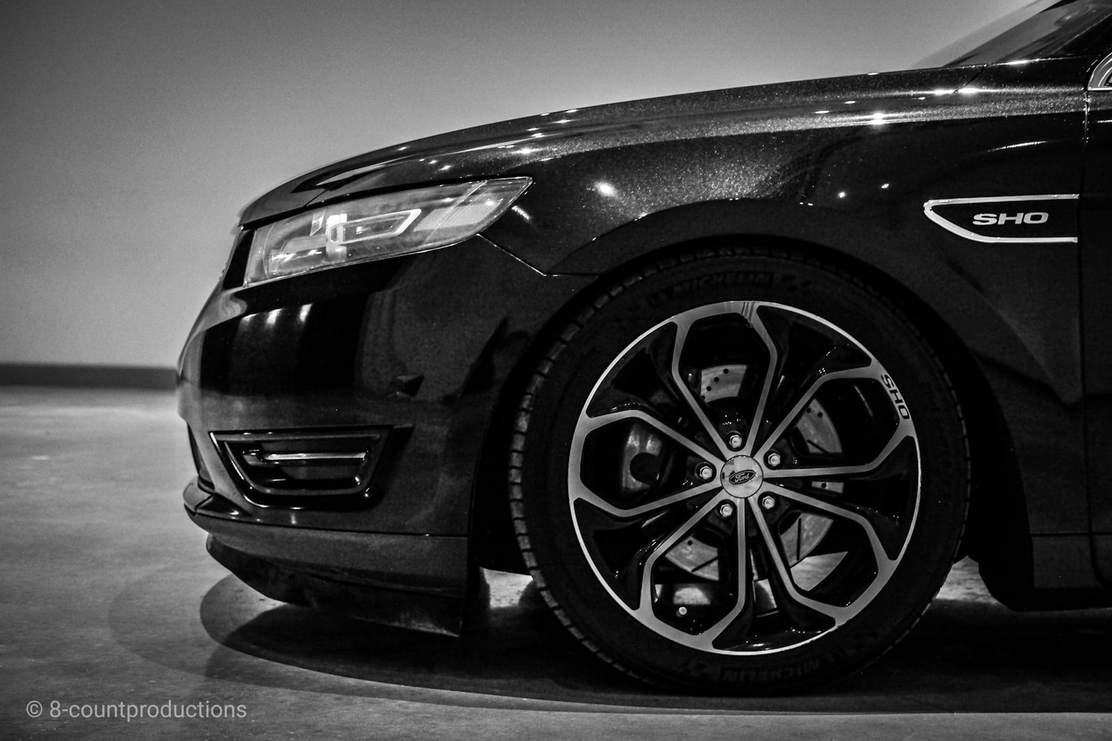 2014 Tuxedo Black Ford Taurus SHO picture, mods, upgrades