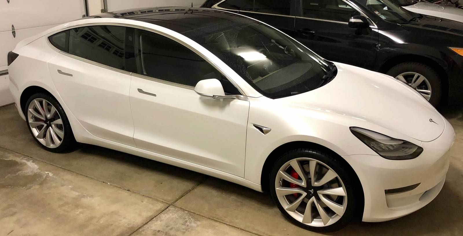 White 2018 Tesla Model 3 Performance