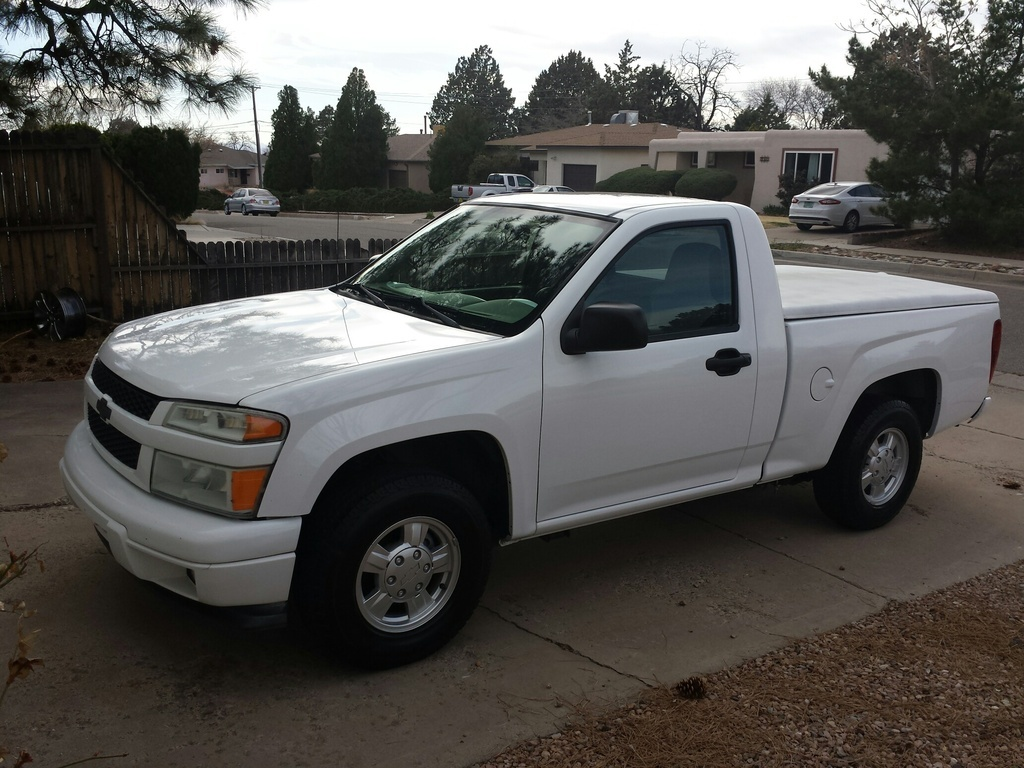 2008 White Chevrolet Colorado LS picture, mods, upgrades