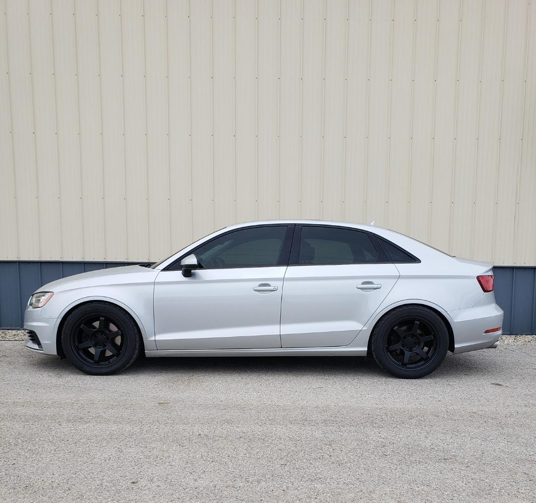 2015 Audi A3 Premium 1/4 Mile Trap Speeds 0-60
