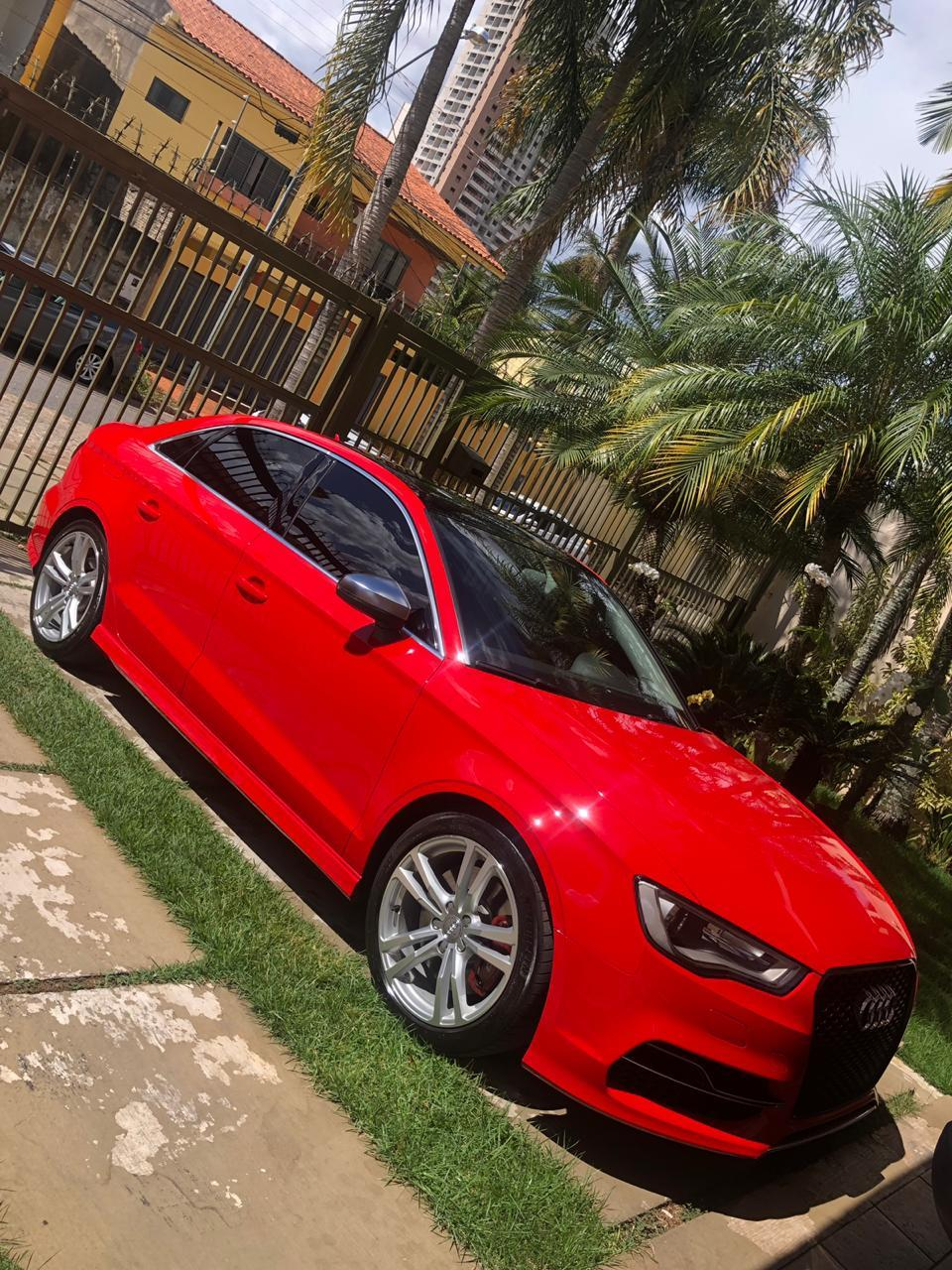 2015 Red  Audi S3 Lm sedan  picture, mods, upgrades