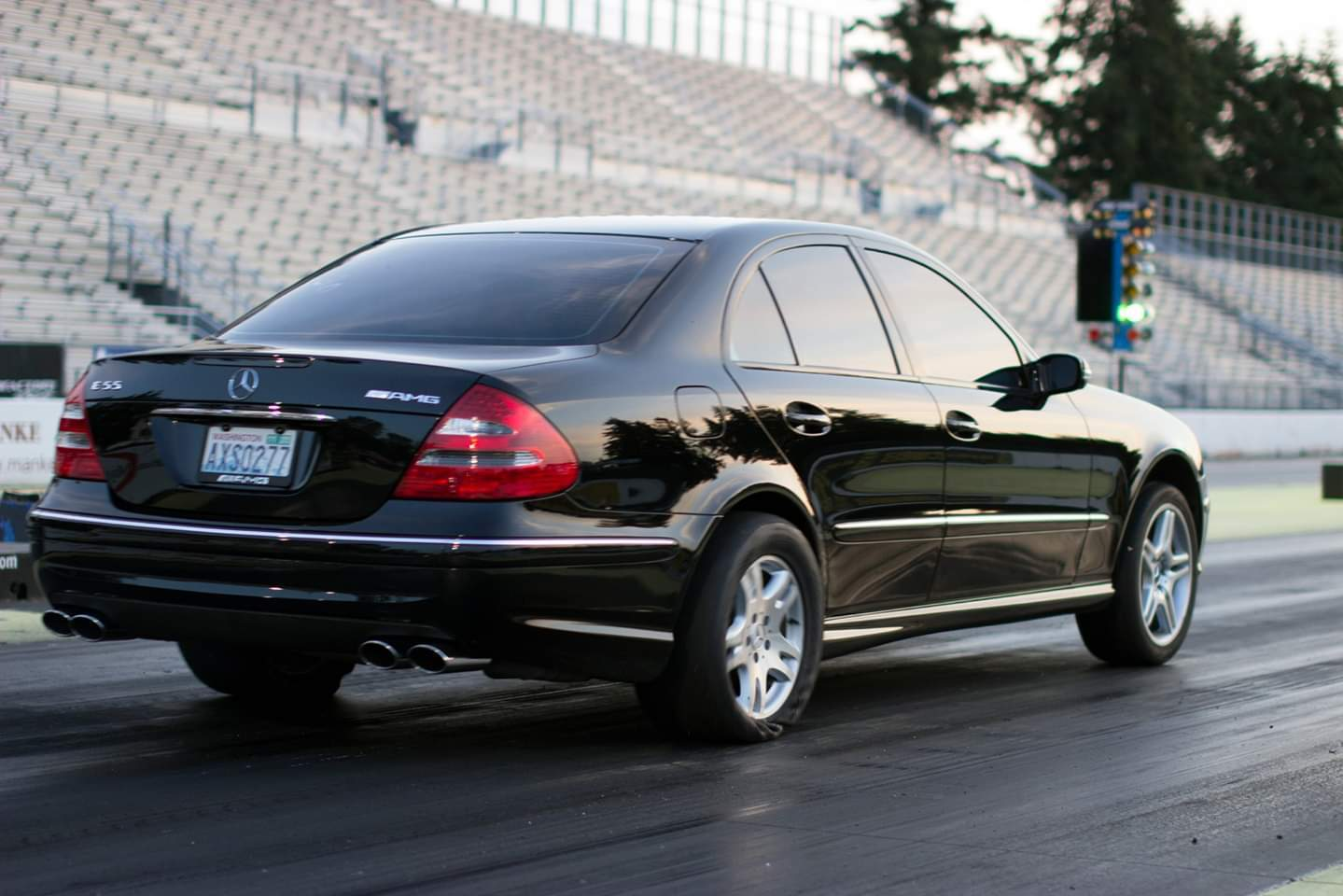 2004 Black  Mercedes-Benz E55 AMG  picture, mods, upgrades