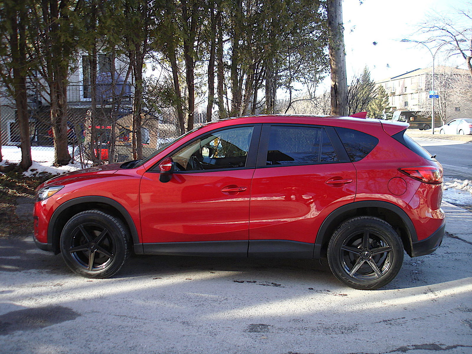 red 2016 Mazda CX-5 GT