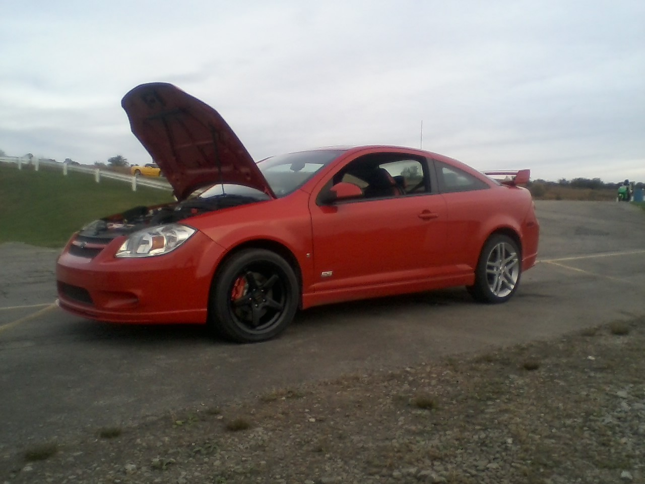 Victory Red  2008 Chevrolet Cobalt SS