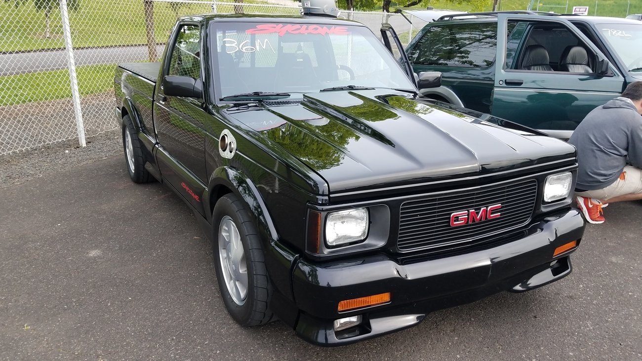 1991 GMC Typhoon Syclone Not Typhoon 1/4 mile Drag Racing