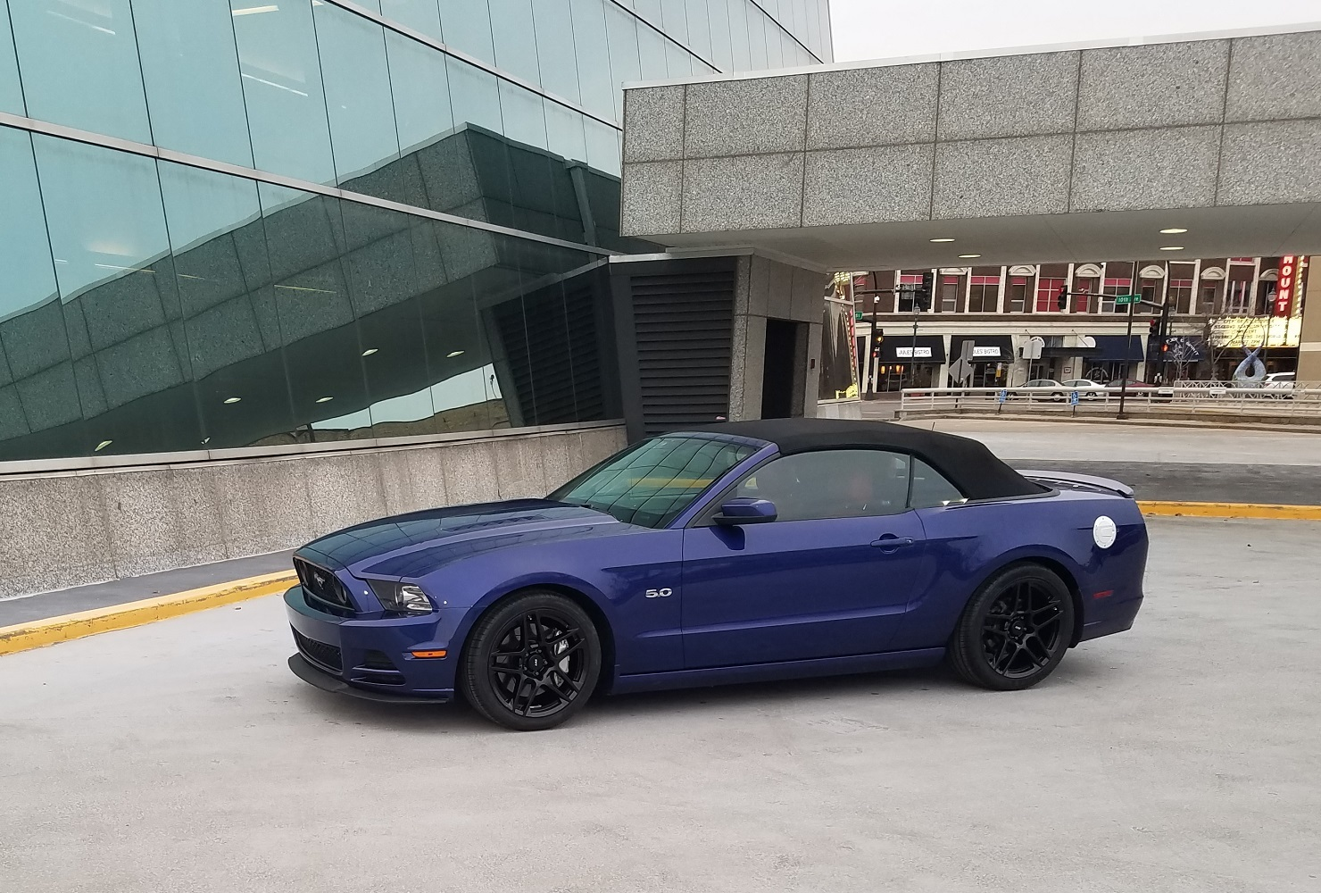 Mustang Gt 0 60 >> Stock 2014 Ford Mustang Gt Convertible 1 4 Mile Trap Speeds
