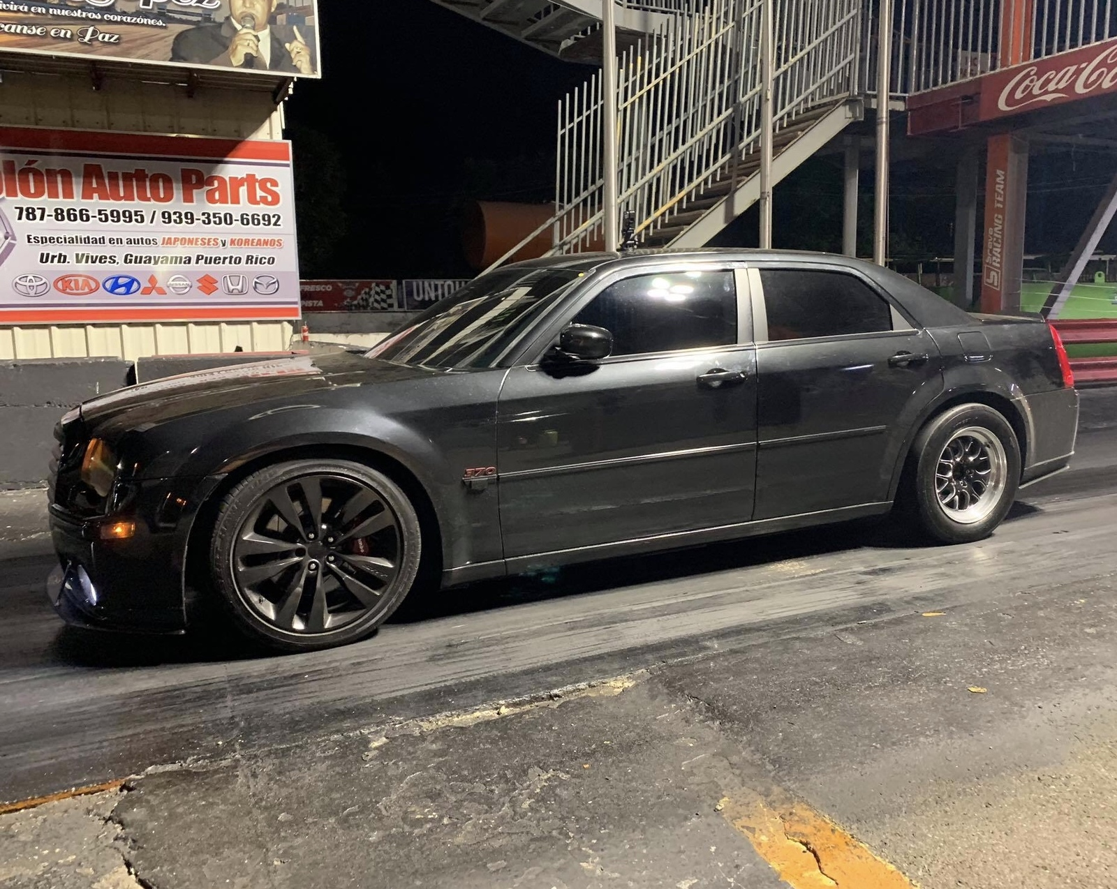 Black 2006 Chrysler 300 SRT