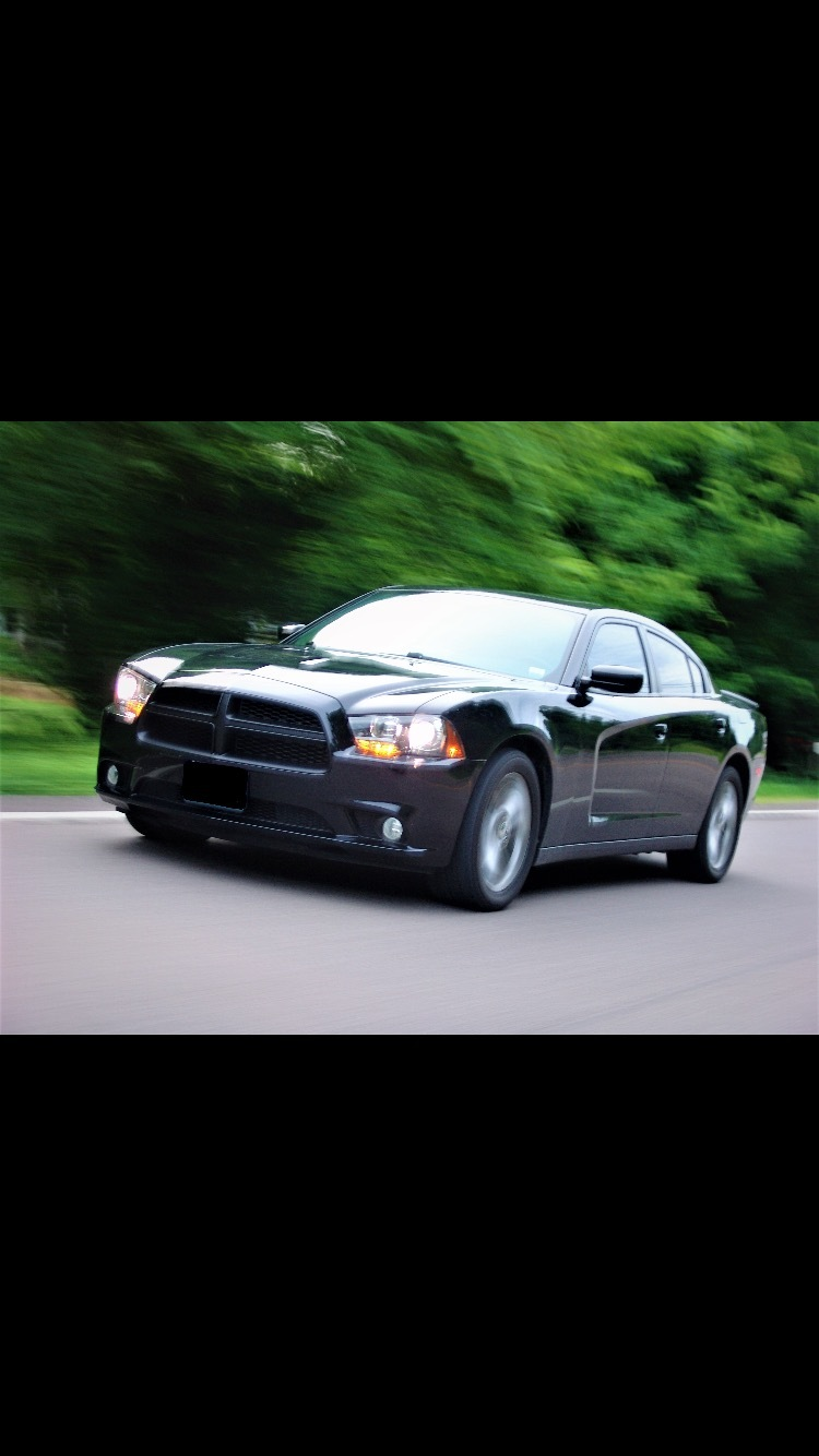 Black 2013 Dodge Charger R/T AWD