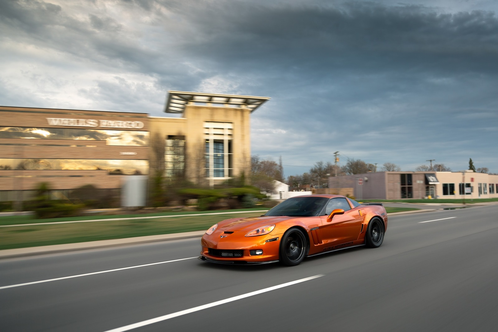 Atomic Orange  2008 Chevrolet Corvette