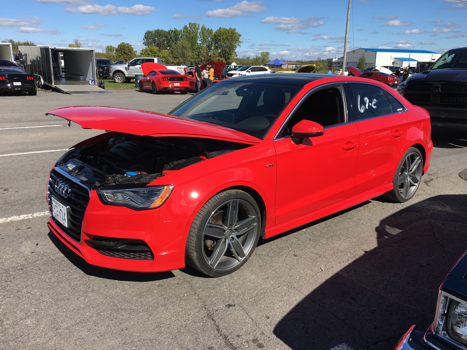 2016 Red Audi A3 Quattro 2 0t Pictures Mods Upgrades Wallpaper Dragtimes Com