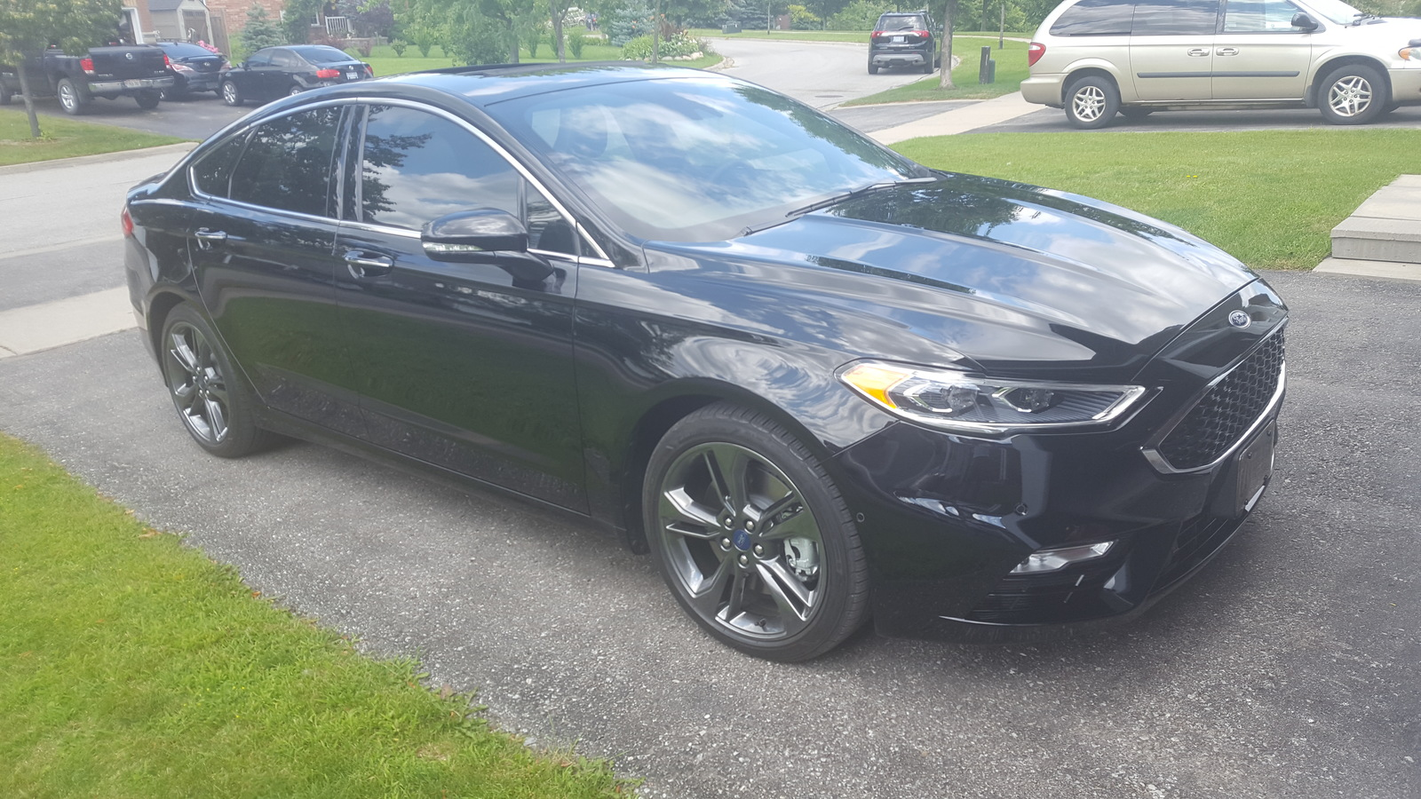 Ford Fusion Sport 0 60 >> 2017 Ford Fusion Sport 1 4 Mile Trap Speeds 0 60 Dragtimes Com