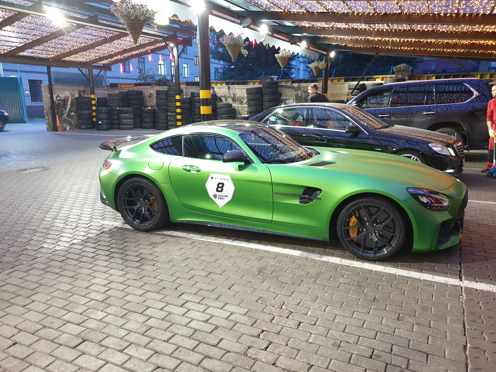 2018 Green Mercedes-Benz AMG GTR picture, mods, upgrades