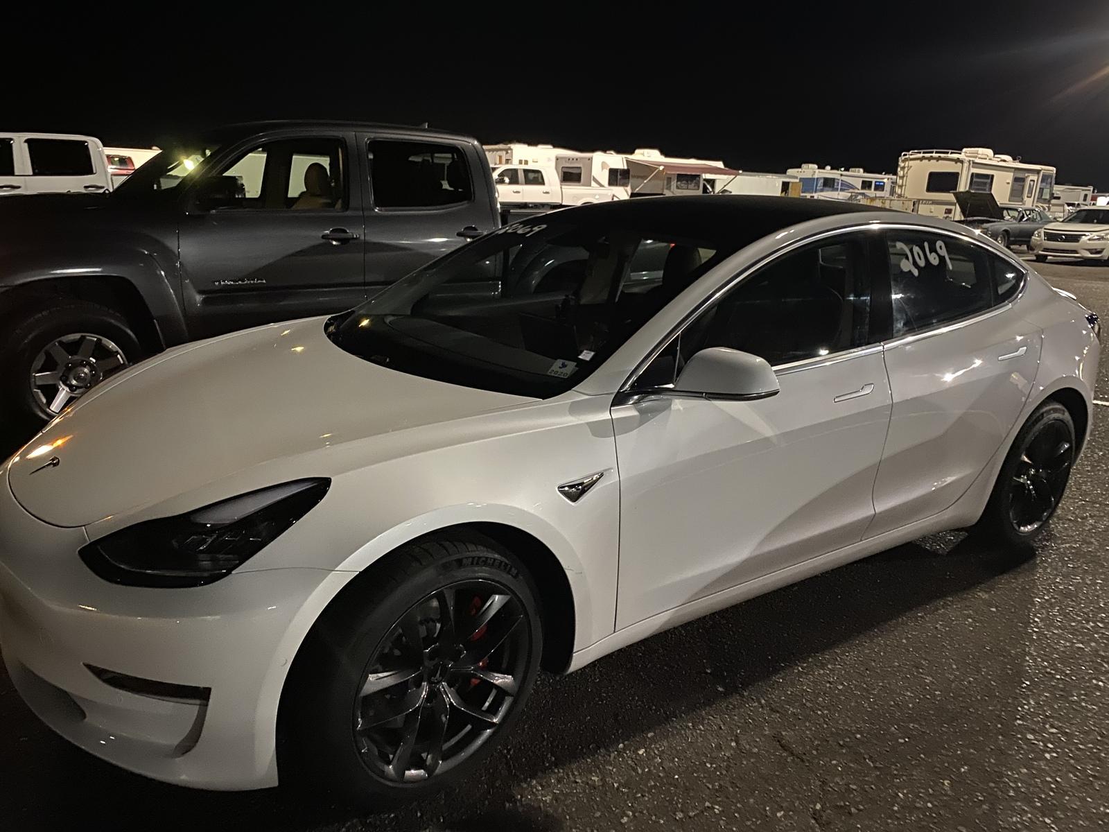 2020 Tesla Model 3 Performance 1/4 mile Drag Racing ...
