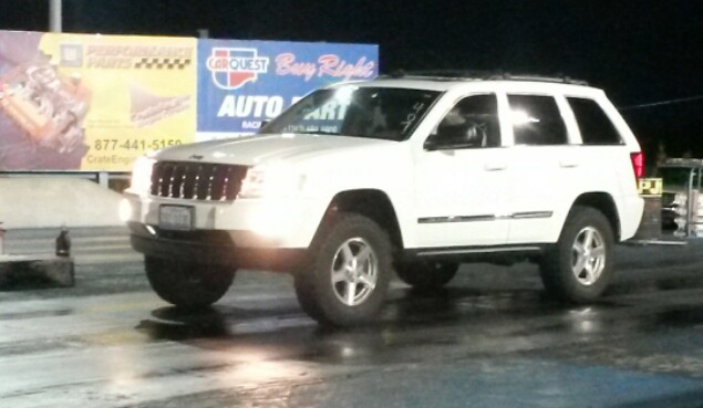 White 2005 Jeep Grand Cherokee Limited