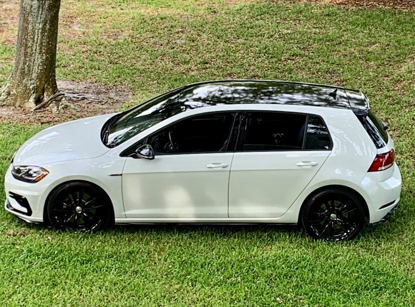 White 2019 Volkswagen Golf R