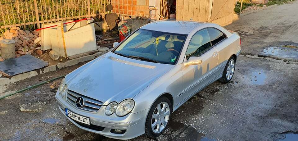 2006 Mercedes-Benz CLK550