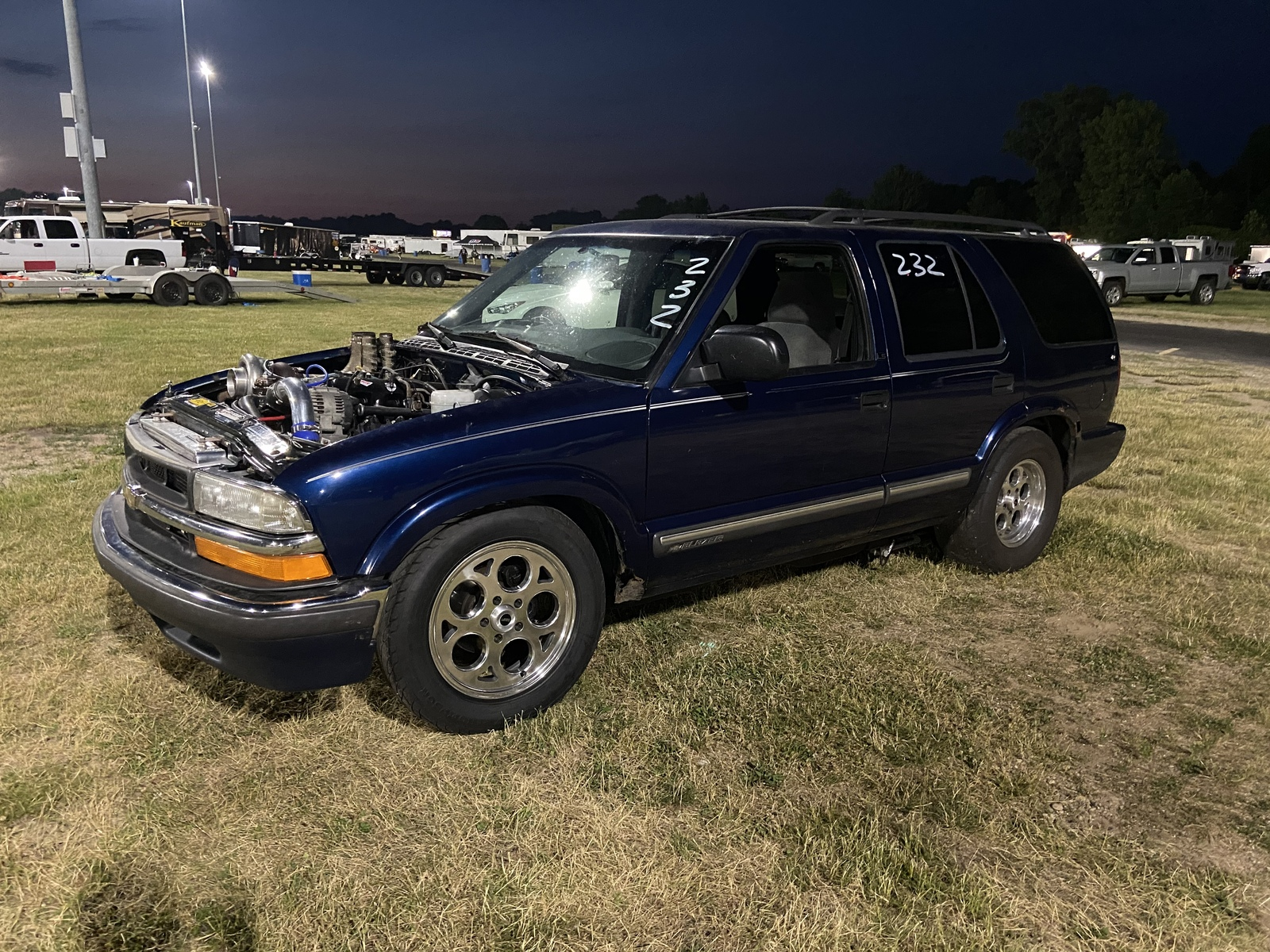 2001 Chevrolet S10 Blazer Ls 1 4 Mile Trap Speeds 0 60 Dragtimes Com
