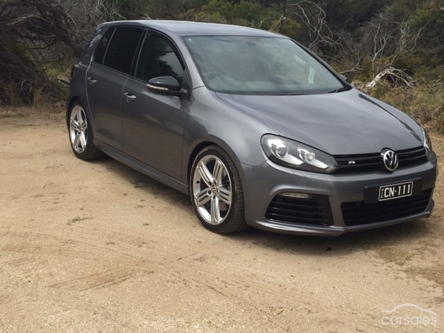 United Grey 2012 Volkswagen Golf R APR Stage 3+