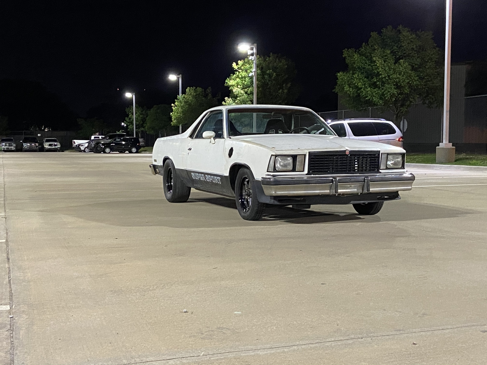 White/black 1979 Chevrolet El Camino SS