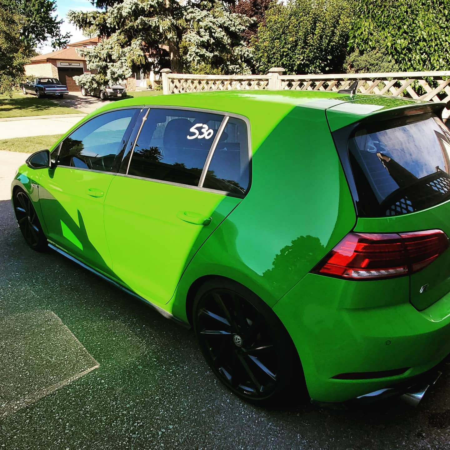2018 Cliff Green Volkswagen Golf R  picture, mods, upgrades