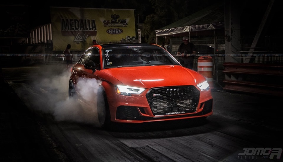 Red 2018 Audi RS-3 Audi Sport