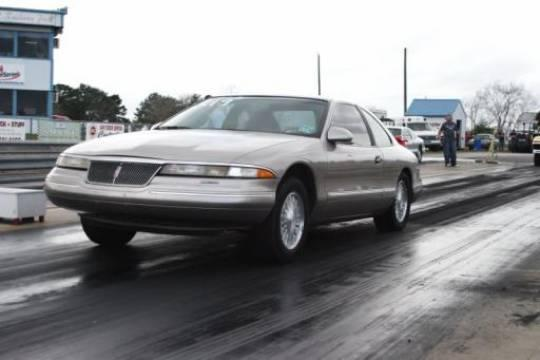 1995 Lincoln Mark Viii Base Model 14 Mile Drag Racing Timeslip