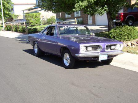 1967  Plymouth Barracuda  picture, mods, upgrades