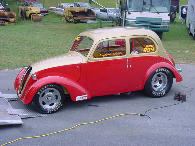 1938 Fiat 1100 Simca 8 1 4 Mile Trap Speeds 0 60