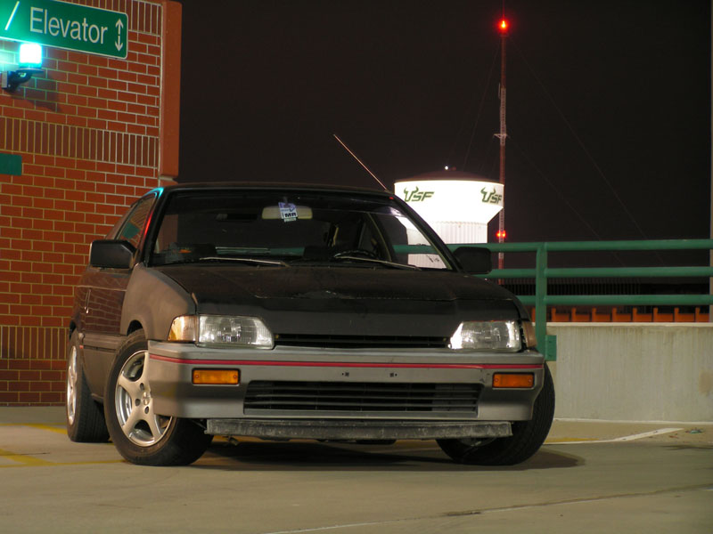 1987 Honda Civic CRX HF