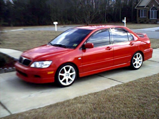 2003  Mitsubishi Lancer OZ Rally picture, mods, upgrades