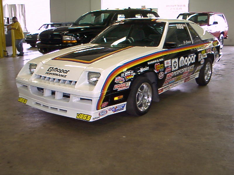 1984 Dodge Shelby Charger NHRA IHRA  Stock Eliminator