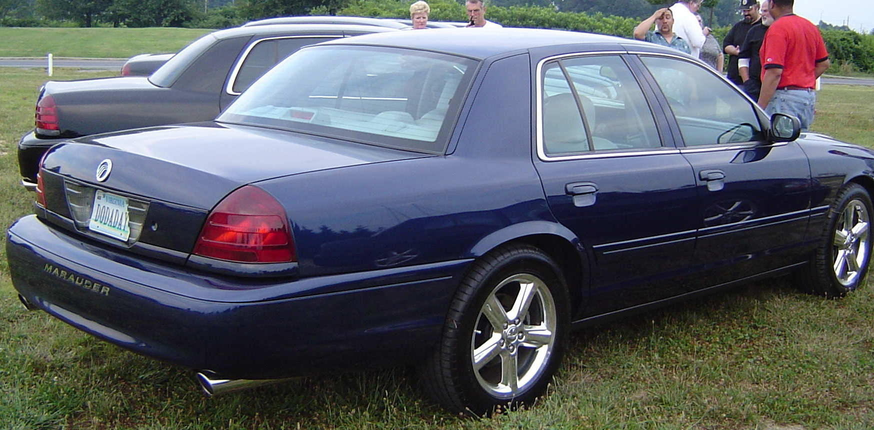 2003 Mercury Marauder Stock