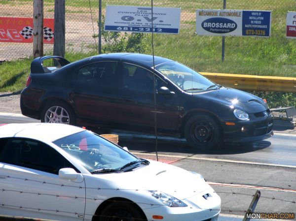 Black 2004 Dodge Neon SRT-4