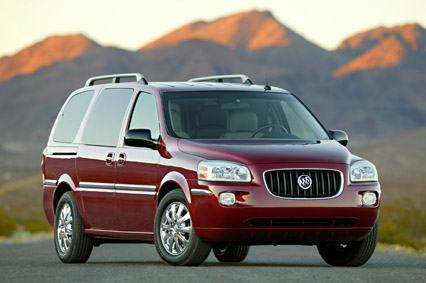 2005  Buick Terraza CXL picture, mods, upgrades
