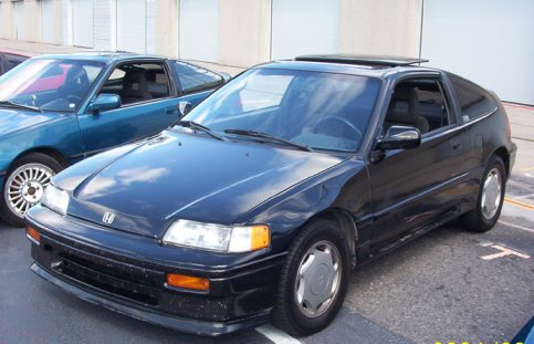 1989  Honda Civic CRX Si picture, mods, upgrades