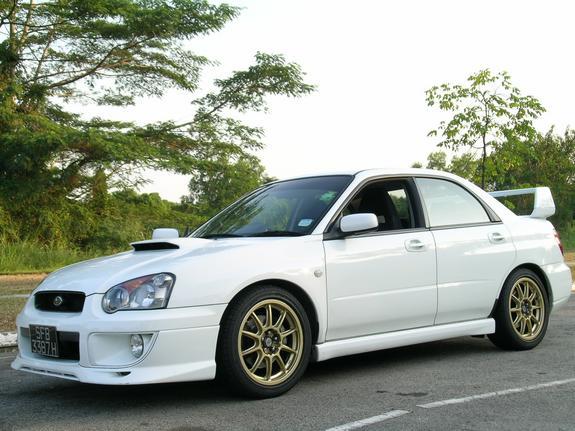 2004 Subaru Impreza WRX 2004 1/4 mile Drag Racing timeslip ...