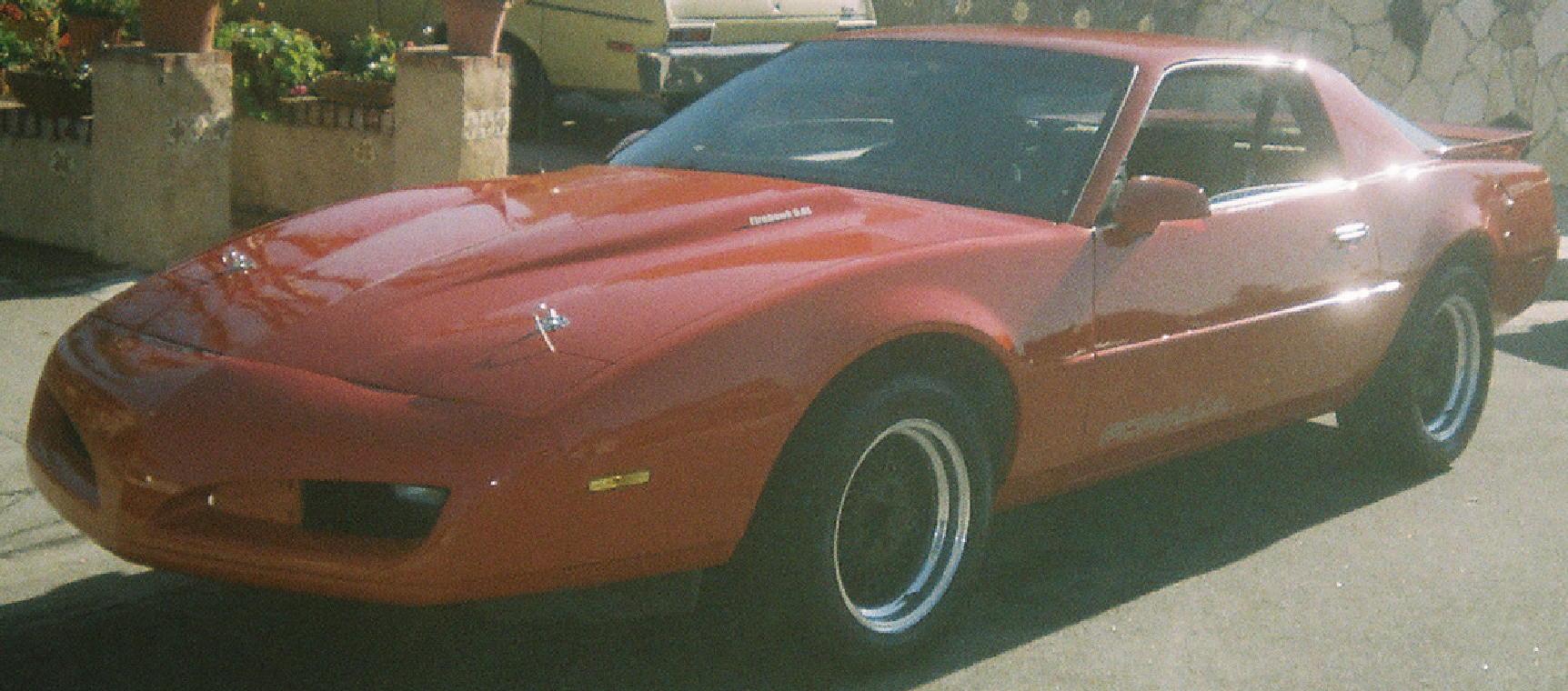 1989 pontiac firebird formula ws6