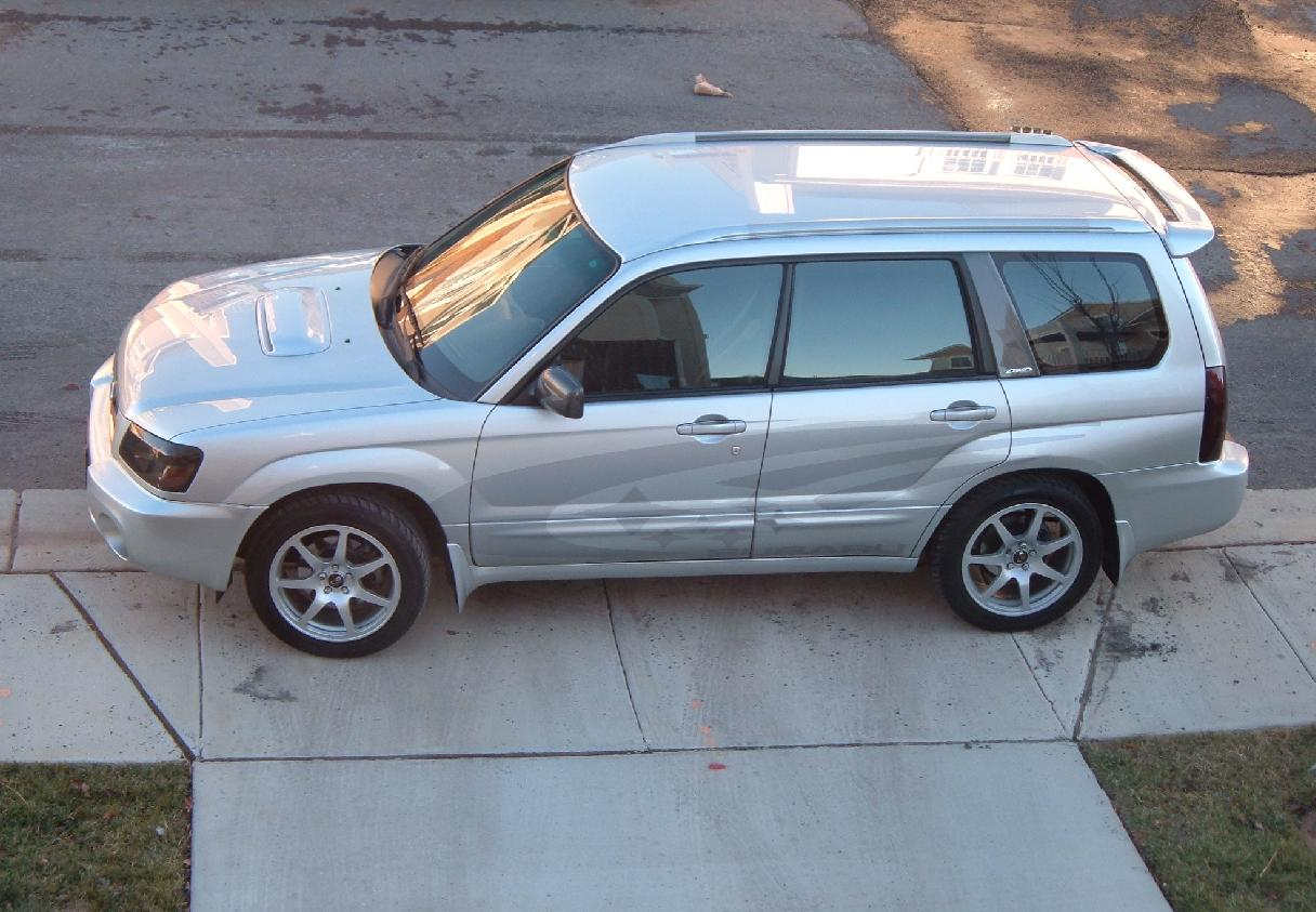 2004  Subaru Forester XT picture, mods, upgrades