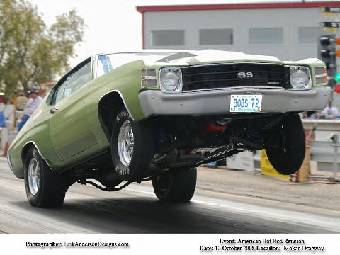 1972 Frost green Chevrolet Chevelle Malibu picture, mods, upgrades