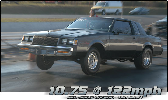 1986 Buick Regal T-Type WH1 Designers Series