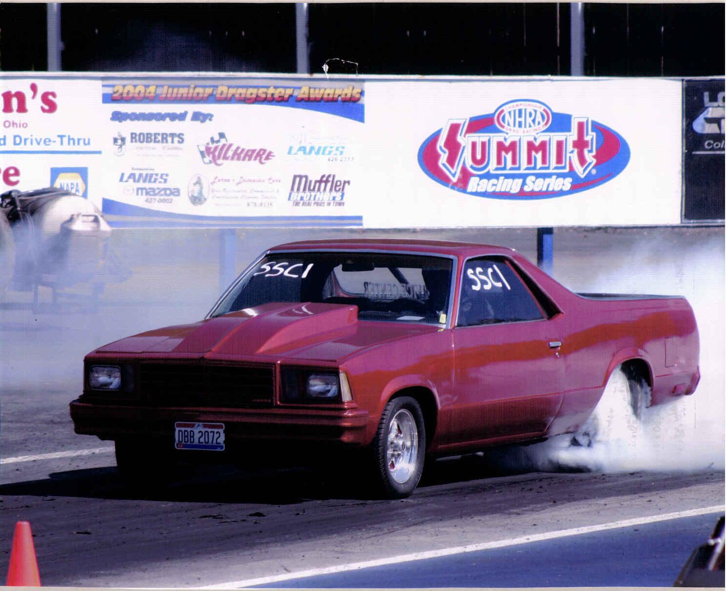 1979 Chevrolet El Camino 1 4 Mile Drag Racing Timeslip Specs
