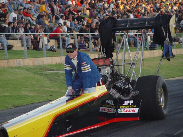 1996 Dragster Rear Engine Top Fuel Dragster