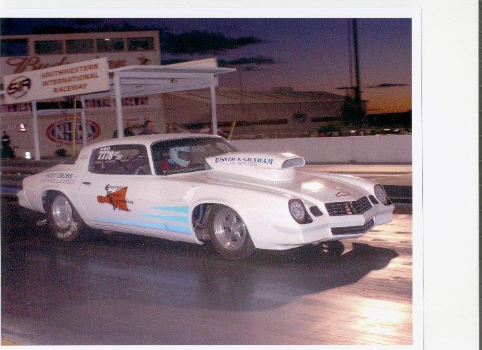 1978 Camaro Drag Car
