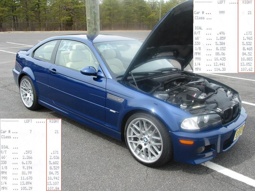 2005 BMW M3 SMG II (stock)